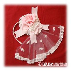Antoine Bouquet Head Bow (Pink) - Baby, the Stars Shine Bright