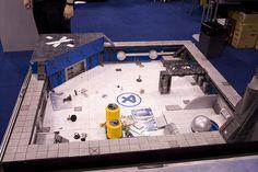 Sweet 3D Fantastic 4 heroclix map!