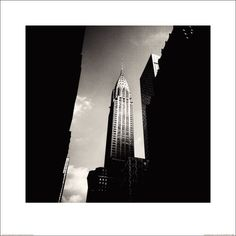 The Art Group Josef Hoflehner Chrysler Building (Lexington) New York... (800 RUB) ❤ liked on Polyvore featuring home, home decor, wall art, backgrounds, pictures, art, photo, filler, borders e picture frame