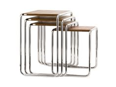 NEW at Nest - the Thonet B 9 Nesting Tables http://www.nest.co.uk/whats-new/thonet-b-9-nesting-tables