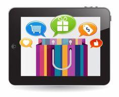 :) Inbound Marketing, Online Marketing, Digital Marketing, Mobile Shop, Blog, Vector Free, Preparado, Shopping, Places