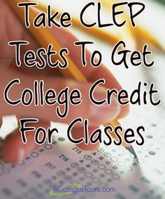How to get college credit for a class without actually taking the course