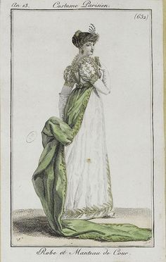 Court dress, 1804-1805