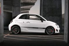 2016 FIAT 500 C Abarth 2dr Convertible (1.4L 4cyl Turbo 5M)   Side