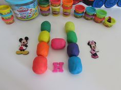 Letter H - learn ABC alphabet with toys and Play Doh Kinder surprise eggs