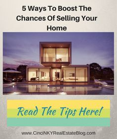 Five quick tips to help boost the chances of your home selling the first time around!