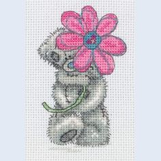 Daisy for You - Me To You - Tatty Teddy - counted cross stitch kit Coats Crafts