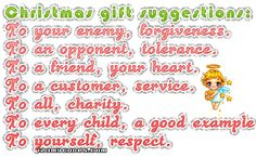The best gifts to give.