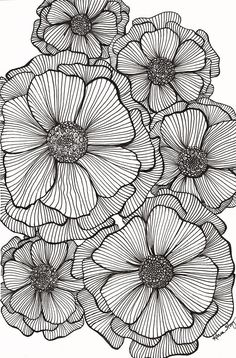 Doodle art 56295064077700150 - JPG file that can be used to create greeting cards, gift tags, tissue paper for decoupage, and whatever else you can imagine. Makes a great background for other designs. Source by bOnObOboo Zentangle Drawings, Zentangle Patterns, Art Drawings, Doodles Zentangles, Doodle Patterns, Mandala Drawing, Zentangle Art Ideas, Patterns To Draw, Art Patterns