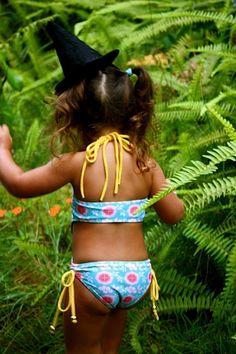Kimi & Li Bikini  Kids & baby swimwear.