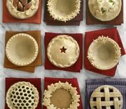 Decorative Pie Crust Designs Everything Thanksgiving - Martha Stewart Food No Bake Desserts, Just Desserts, Delicious Desserts, Dessert Recipes, Yummy Food, Dessert Healthy, Baking Desserts, Breakfast Healthy, Health Breakfast