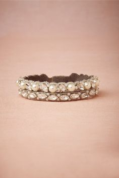 Side-by-Side Bracelet in Bride Bridal Jewelry Bracelets at BHLDN