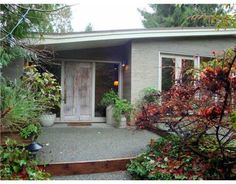 Mid-Century Modern Post and Beam House For Sale: West Vancouver, Sentinel Hill C. 1954. Click photo for full details