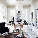 At Home With: Paul Costello & Sara Ruffin Costello 작성자 {this is glamorous}