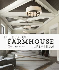 Our favorite farmhouse lighting fixtures of Farmhouse Light Fixtures, Outdoor Light Fixtures, Farmhouse Lighting, Rustic Farmhouse, Farmhouse Style, Quoizel Lighting, Elk Lighting, Modern Lighting, Outdoor Lighting