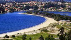 Praia de Ladeira. (Pontevedra). Galicia. Spain..