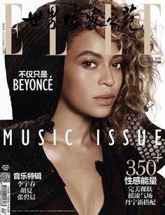 Beyoncé Elle Magazine May 2016 China
