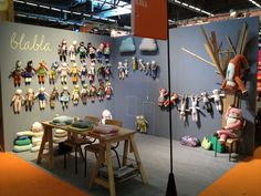 blabla booth at the Paris gift show