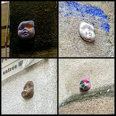 Visages de #poupée #streetart rues de #Limoges. Qui connaît l'artiste svp? :) #LimogesTourisme #tourolim #instalimoges #HauteVienne #Limousin #igershautevienne #igerslimoges #igerslimousin #igersfrance #ig_france #street #doll #streetartlimoges #culturesurbaines #artderue #dollface