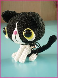 #Cute amigurumi mini cat