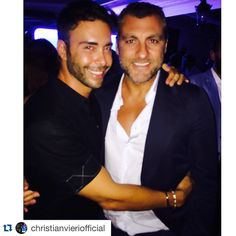 #Repost @christianvieriofficial ・・・ @giacomourtis and Bobo sta venice, vanity fair party ✌️✌✌✌ — con Giacomo Urtis e Giacomo Urtis presso Venezia, Italia.