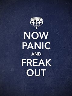 while you keep calm, I... do this.