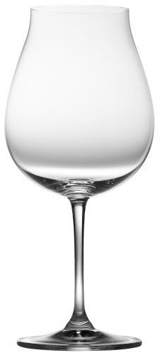 Riedel Vinum XL Pinot Noir Glass, Set of 2 by Crystal of America. $59.95. Affordable yet high-quality set for everyday use; made in germany. Machine-made of premium 24% lead crystal for brilliance and clarity. Wash by hand. Set of 2 vinum xl pinot noir glasses measuring 9-1/2 inches high and holding 28-1/4 ounces each. Designed to enhance the fine qualities of oregon pinots. Created during several workshops with the famed Oregon growers and producers, the shape of...
