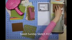 Cardmaking tutorial from a 6X6 paper pad