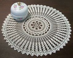 From the designer: The beginning of this doily is a little tricky when working with fine cotton and so probably not suitable for beginners. Then again if I could do it, you probably can too.