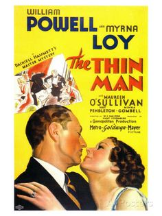 The Thin Man, 1934 Poster at AllPosters.com