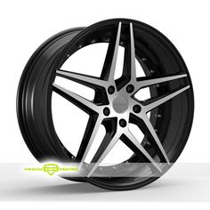 Rosso Reactiv Machined Black Wheels For Sale & Rosso Reactiv Rims And Tires