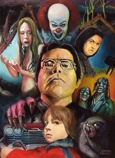 Horror Movie Art : The Films Of Stephen King