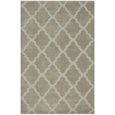 @Overstock - nuLOOM Handmade Moroccan Trellis Taupe Wool Rug (7'6 x 9'6) - Add subtle elegance to a room with this exquisite hand-hooked wool rug. Made from Moroccan trellis wool using petit point stitching, the rug is a joy to walk on.  http://www.overstock.com/Home-Garden/nuLOOM-Handmade-Moroccan-Trellis-Taupe-Wool-Rug-76-x-96/8283607/product.html?CID=214117 $327.24