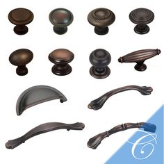 "Kitchen Drawer Pulls Oil Rubbed Bronze amerock - french country 5"" centers barrel pull in oil rubbed"