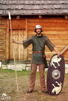 Iron age Celtic warrior. Image by Terra Celtica, Poland.
