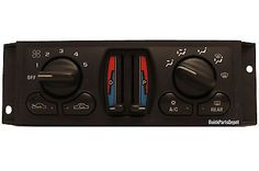 cool 2000 - 2003 CHEVROLET IMPALA MONTE CARLO AC HEATER CLIMATE CONTROL SWITCH HVAC - For Sale View more at http://shipperscentral.com/wp/product/2000-2003-chevrolet-impala-monte-carlo-ac-heater-climate-control-switch-hvac-for-sale/