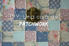 DIY: Una caja de patchwork | Medias y tintas Louis Vuitton Damier, Diy, Quilts, Pattern, Scrappy Quilts, Floor Cushions, Box, Decorated Boxes, Fabrics