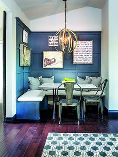 small space dining rooms color inspiration kitchen kitchen nook rh pinterest com