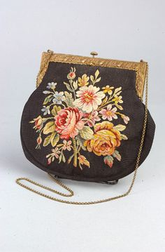 French, Aubusson tapestry bag ca.1920