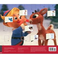Rudolph the RedNosed Reindeer Christmas Advent Calendar *** You can find out more details at the link of the image.