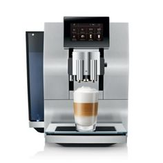 jura coffee machine Make sure this fits by entering your model number. Americano at the touch of a button? Simultaneous coffee and milk preparation for the fastest caff lattes ever? Jura Coffee Machine, Espresso Coffee Machine, Cappuccino Machine, Espresso Machine Reviews, Coffee Maker Reviews, Coffee Drinks, Coffee Cups, Jura Espresso, Automatic Espresso Machine