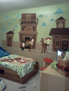 Toy Story Room.