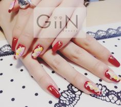 Water Flowers #nail #nails #nailart #nailpolish #naildesign #nailswag #manicure #fashion #beauty #nailstagram #nailsalon #instanails #nails2inspire #love #ネイル #art #gelnail #cute #gelnails #polish #style #gel #naildesigns #instanail #pretty #girl #bloomsbury #nailtech #flowers #pa