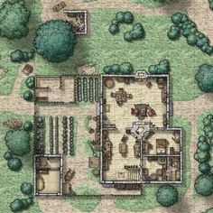 Dungeons And Dragons Board, Dungeons And Dragons Homebrew, Fantasy Map, Fantasy World, Pathfinder Maps, Building Map, Map Icons, Dungeon Maps, Fantasy Drawings