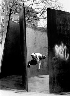 Raphaël Zarka Photographie (Skater on Clara Clara