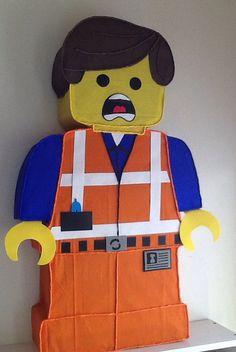 Lego piñata lego la película pinata. Fiesta de lego. por aldimyshop