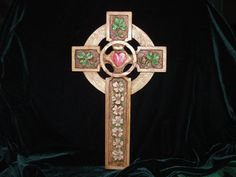 Hand Carved Celtic Cross on Etsy