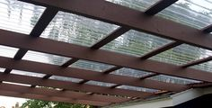 How to plan & build a pergola. DIY roofing with low cost plastic roofing sheets http://www.roofinglines.co.uk/products/?s=sheet-roofing&utm_source=pinterest&utm_medium=pinterest&utm_campaign=pxpinterest2
