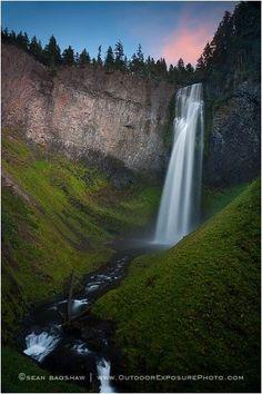 Salt Creek Falls, Willamette Pass, Oregon