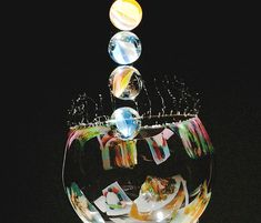 Marbles  Stunning Examples of High Speed Photography.